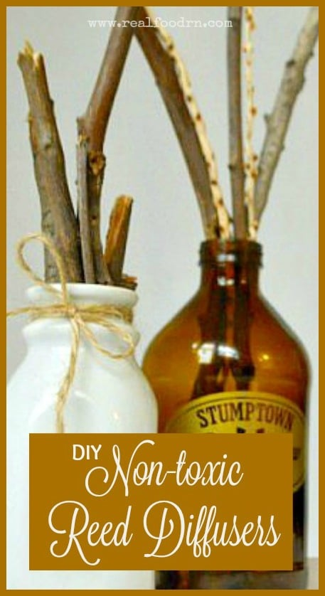 Non-toxic DIY Reed Diffusers | Real Food RN