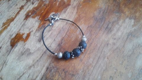 Lave Bead Diffuser Bracelet | RealFoodRN