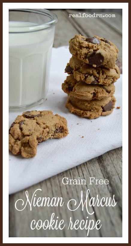 Grain Free Nieman Marcus Cookie Recipe | Real Food RN