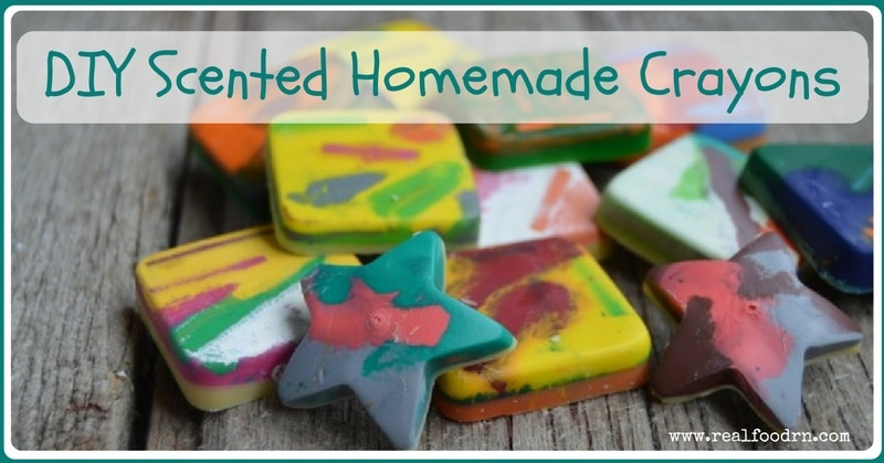 DIY Scented Homemade Crayons | Real Food RN
