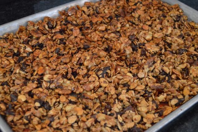 Vanilla Cinnamon Bacon Granola