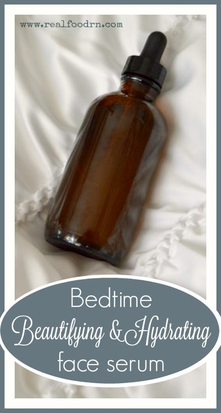 Bedtime Beautifying and Hydrating Face Serum | Real Food RN