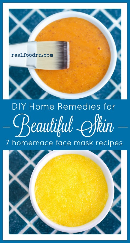 Home Remedies for Beautiful Skin | Real Food RN