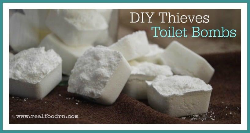 DIY Thieves Toilet Bombs | Real Food RN