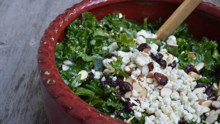 My Famous Kale Salad