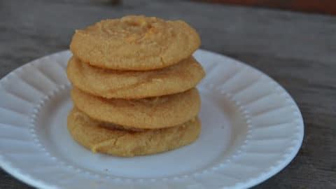 Grain-Free Lemon Cake Cookies