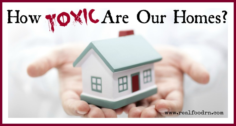 How Toxic Are Our Homes + Non-Toxic Alternatives | Real Food RN