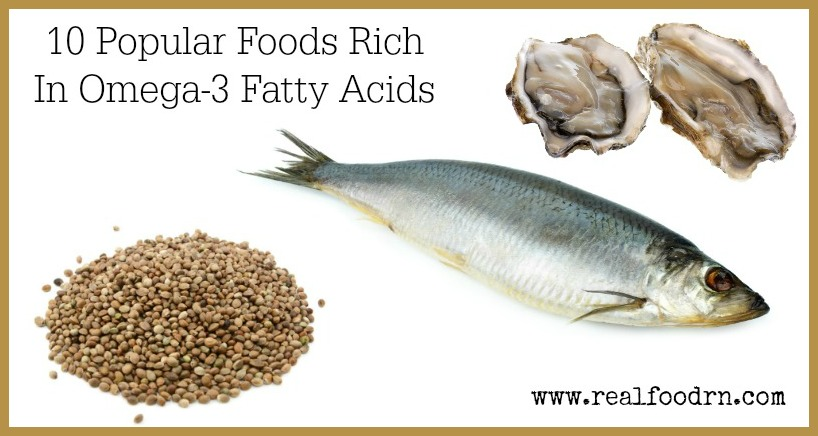 10 popular foods rich in omega 3 fatty acids for Fish rich in omega 3