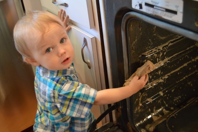 DIY Non Toxic Oven Cleaner That Works! | Real Food RN