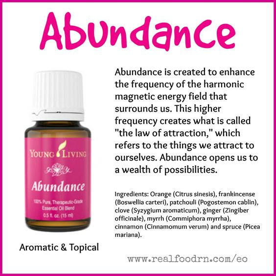 Abundance Essential Oil Pin