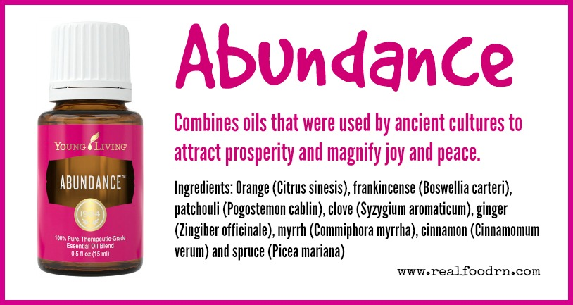 Abundance Essential Oil | Real Food RN