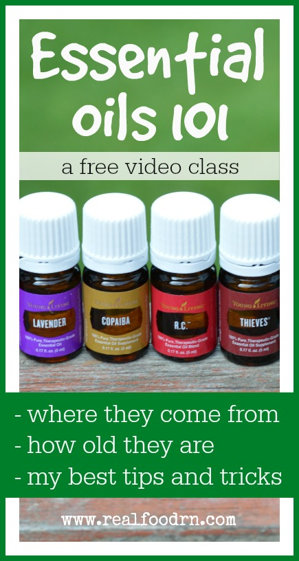 Essential Oils 101 | Real Food RN