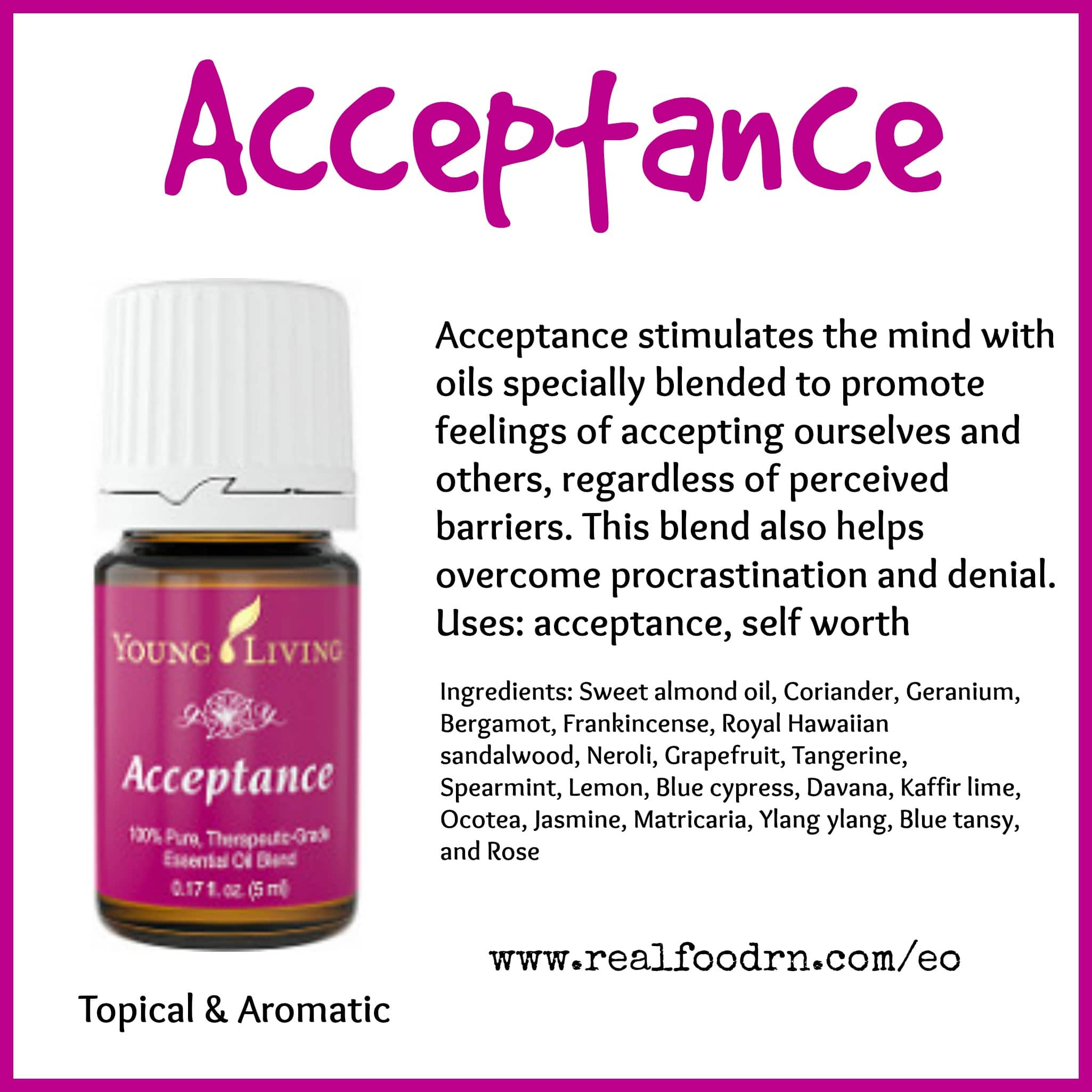 Acceptance Essential Oil Pin