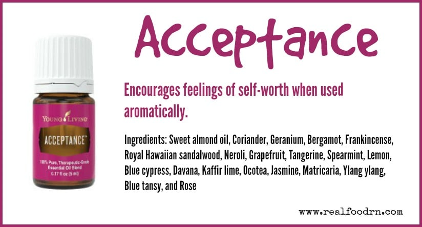 Acceptance Essential Oil | Real Food RN