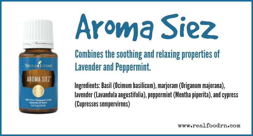 Aroma Siez Essential Oil | Real Food RN