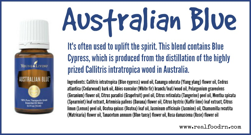 Australian Blue Essential Oil | Real Food RN