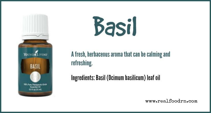 Basil Essential Oil | Real Food RN