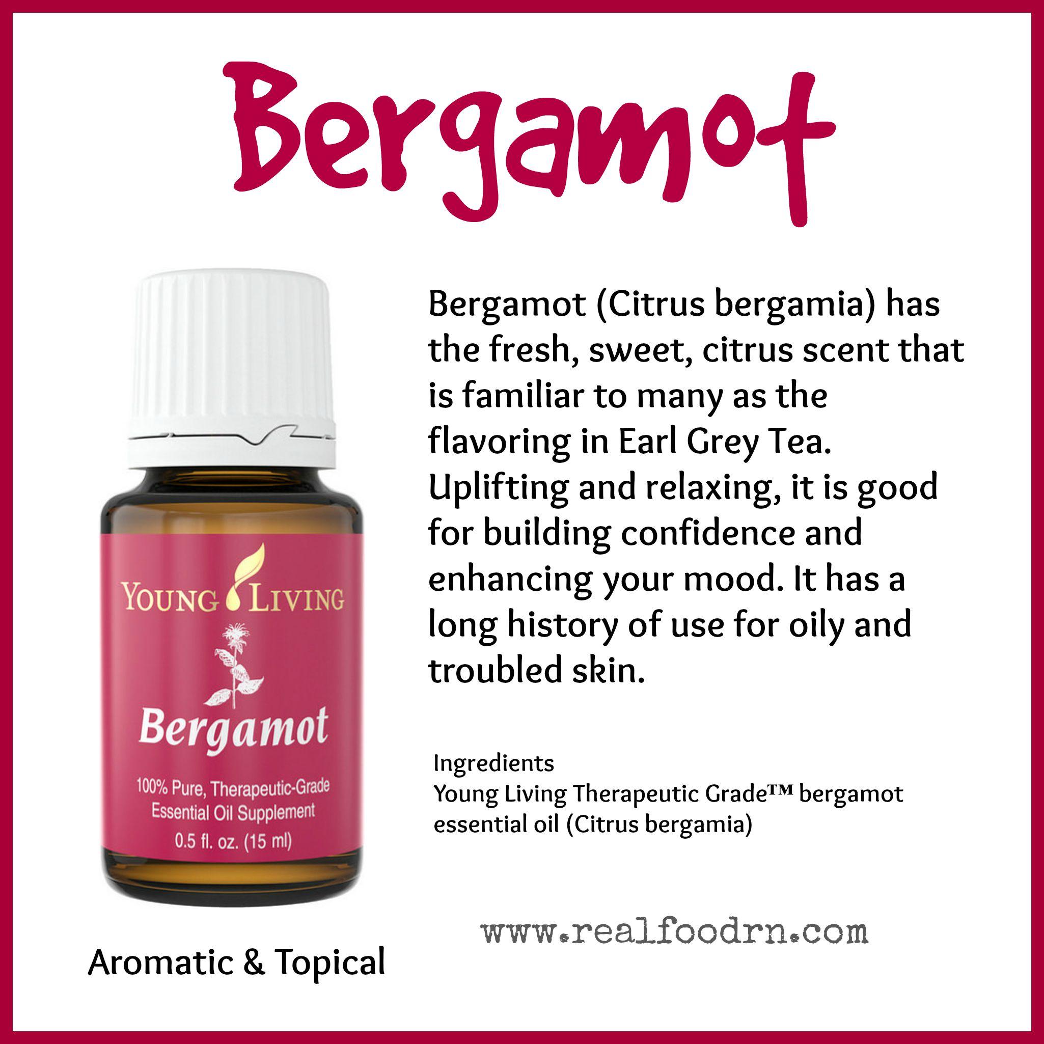 Bergamot Essential Oil Pin