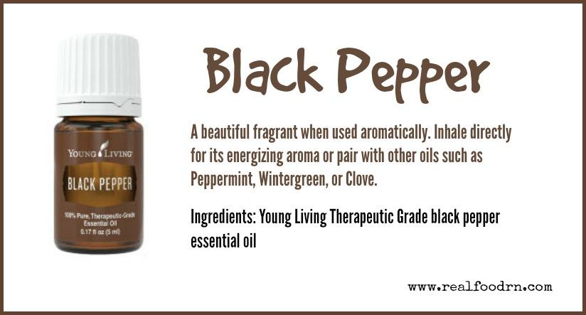 Black Pepper Essential Oil   Real Food RN