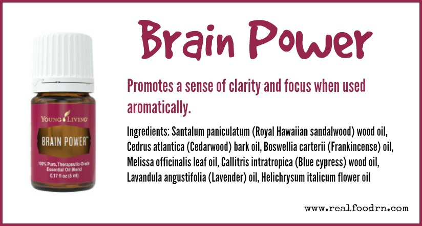 Brain Power Essential Oil | Real Food RN