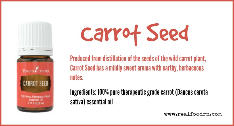 Carrot Seed Essential Oil | Real Food RN
