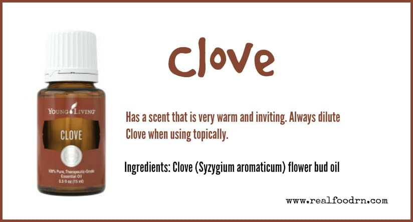 Clove Essential Oil | Real Food RN