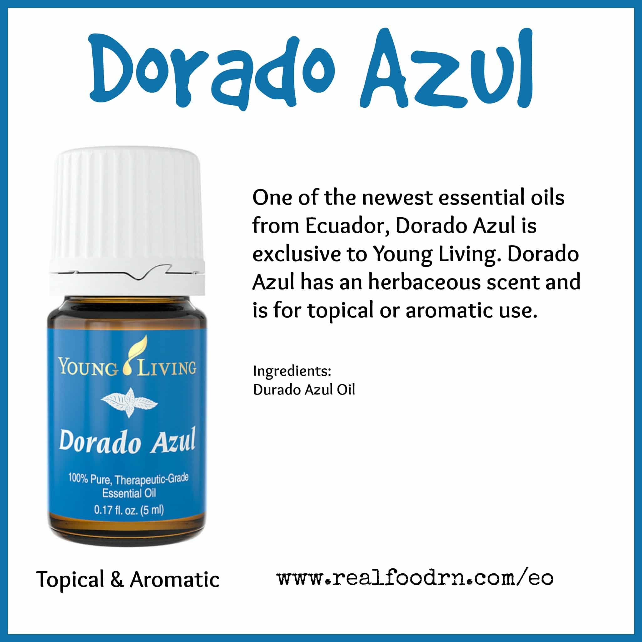Dorado Azul Essential Oil Pin