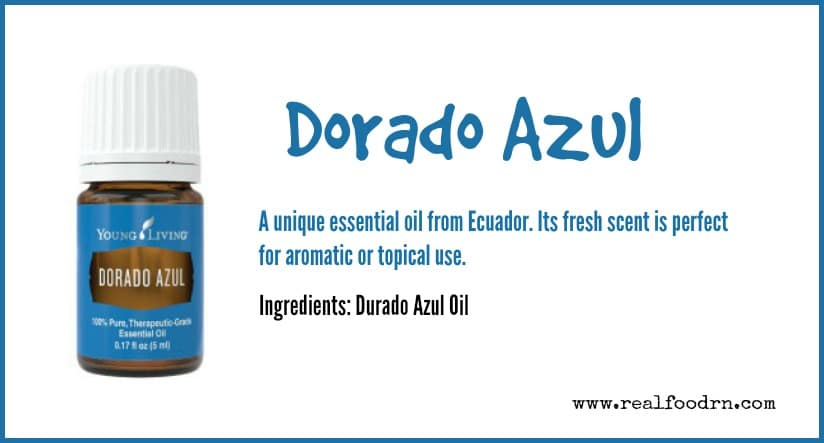 Dorado Azul Essential Oil   Real Food RN