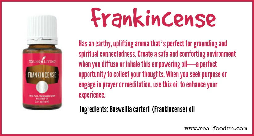 Frankincense Essential Oil | Real Food RN