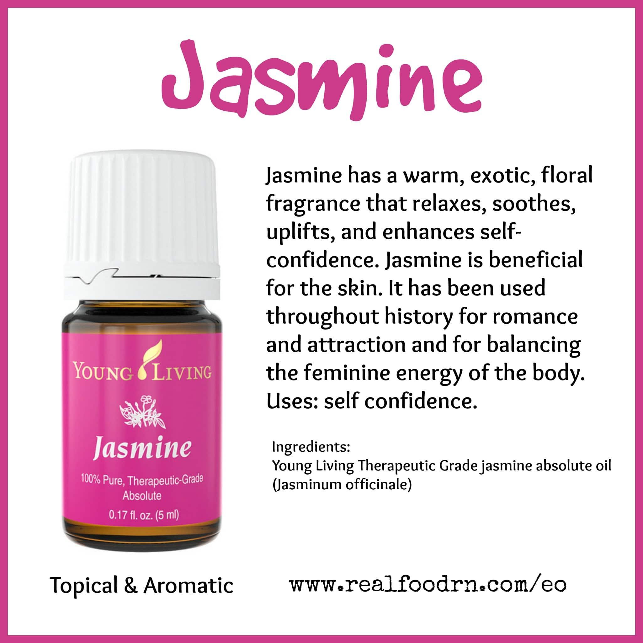 Jasmine Essential Oil Real Food Rn