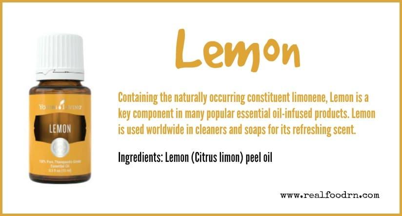 Lemon Essential Oil | Real Food RN