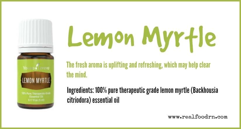 Lemon Myrtle Essential Oil | Real Food RN