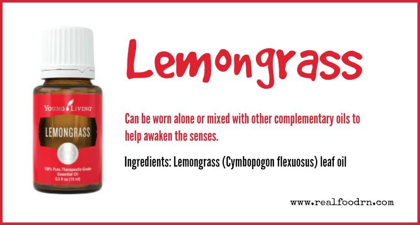Lemongrass Essential Oil | Real Food RN