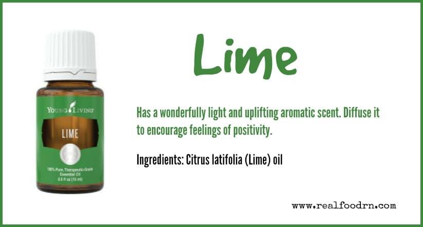 Lime Essential Oil   Real Food RN