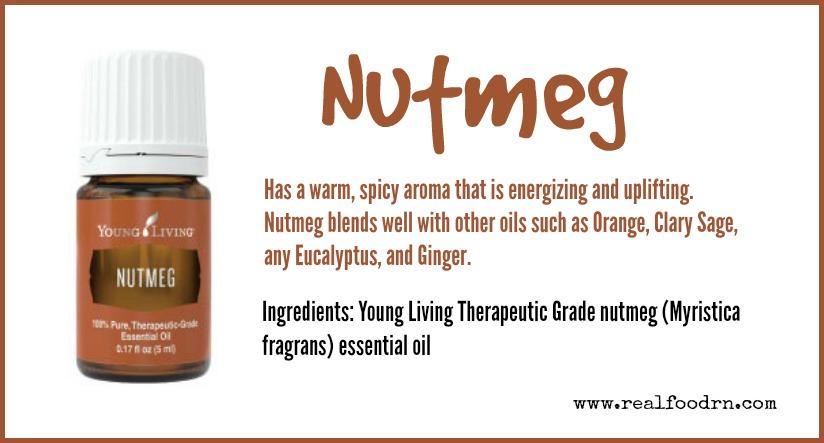 Nutmeg Essential Oil | Real Food RN