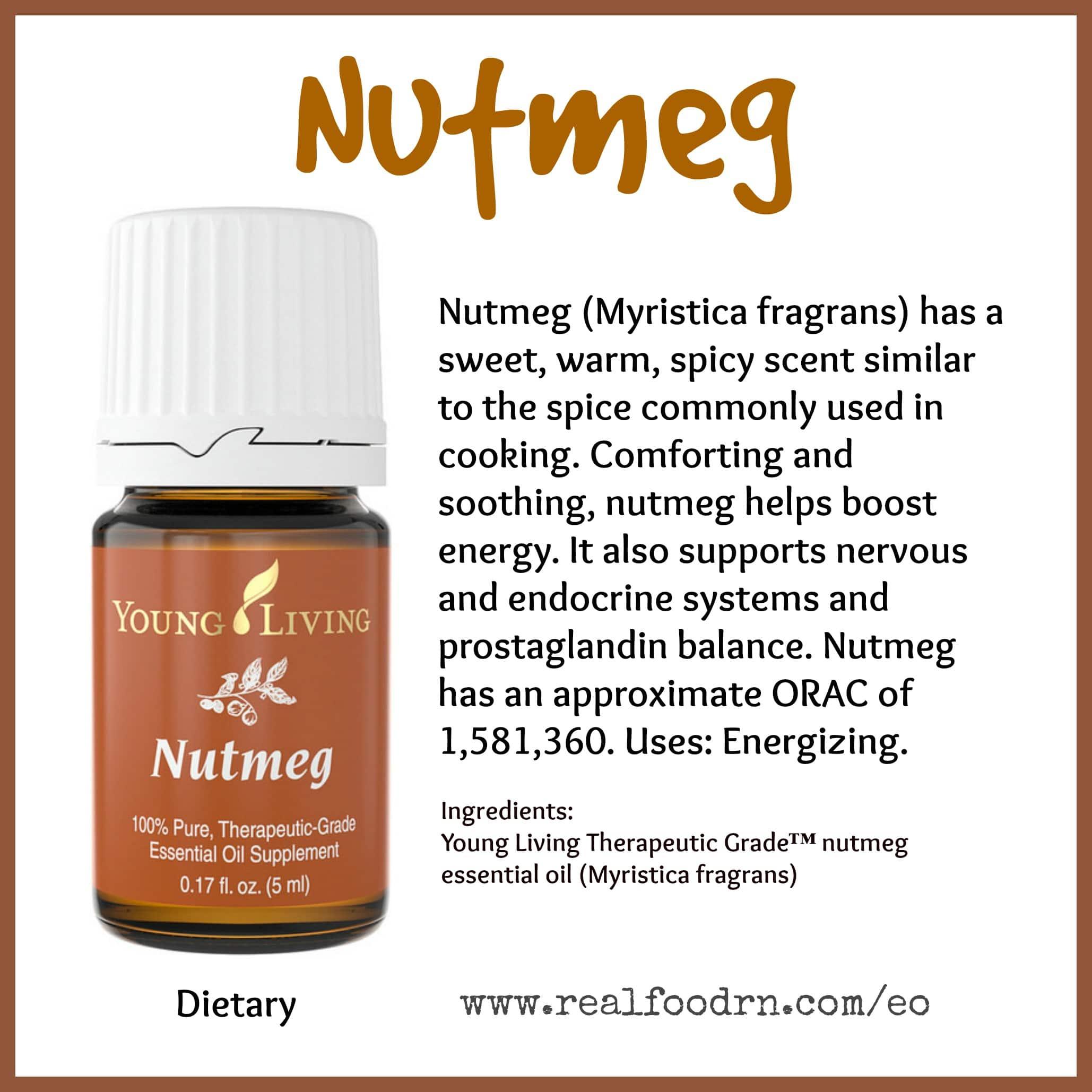 Nutmeg Essential Oil Pin