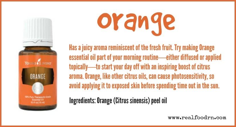 Orange Essential Oil | Real Food RN