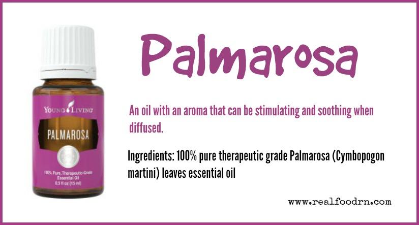 Palmarosa Essential Oil | Real Food RN