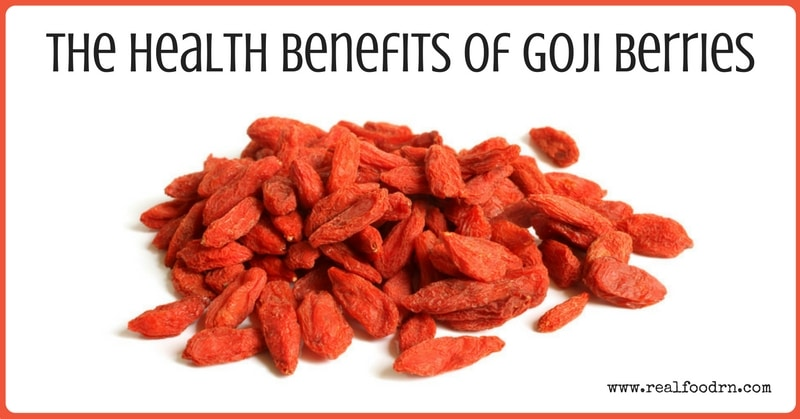 The Health Benefits of Goji Berries | Real Food RN