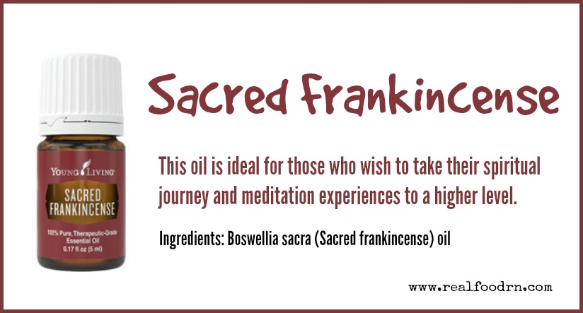 Sacred Frankincense Essential Oil | Real Food RN