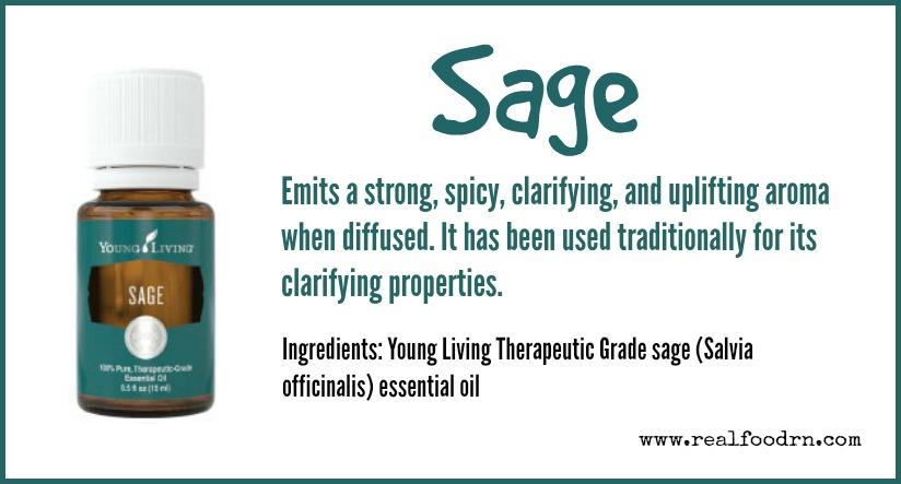 Sage Essential Oil   Real Food RN