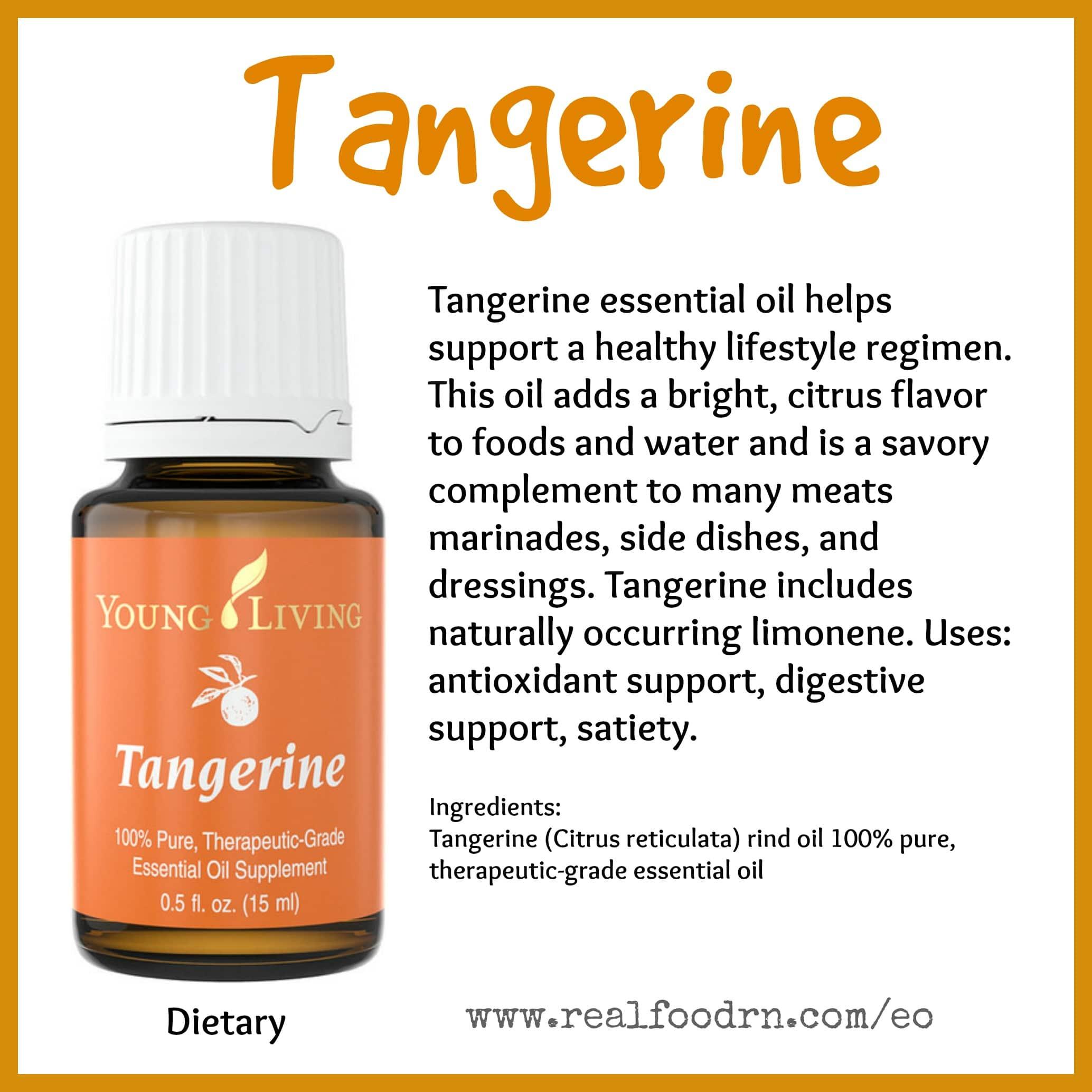 Tangerine Essential Oil Pin