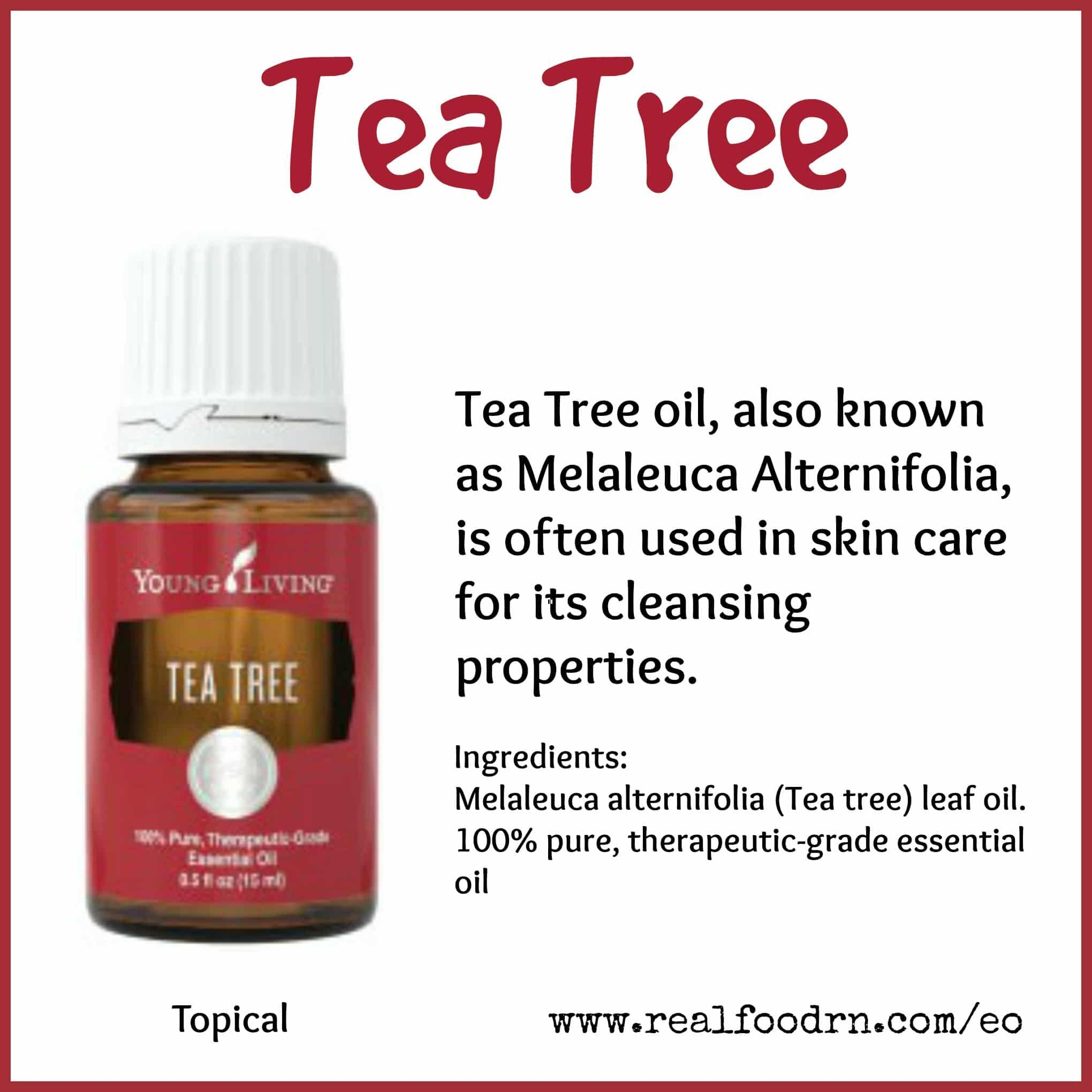 Tea Tree Essential Oil Pin