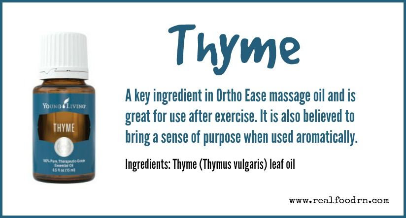Thyme Essential Oil | Real Food RN