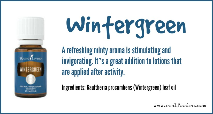 Wintergreen Essential Oil | Real Food RN