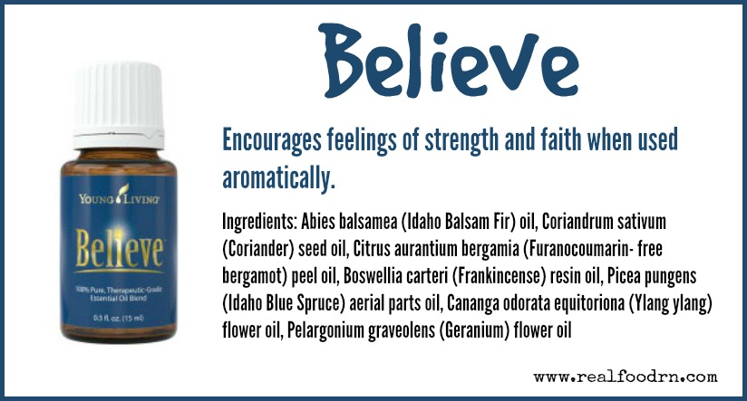 Believe Essential Oil | Real Food RN