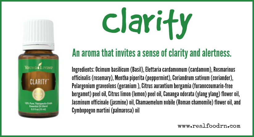Clarity Essential Oil | Real Food RN