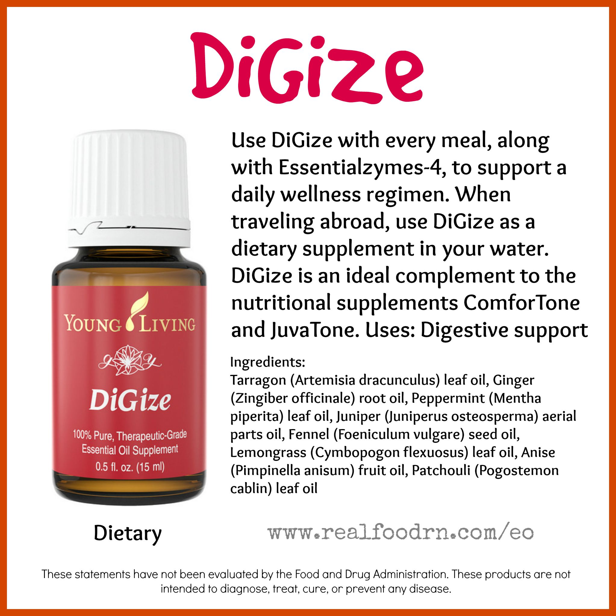 DiGize Essential Oil Pin