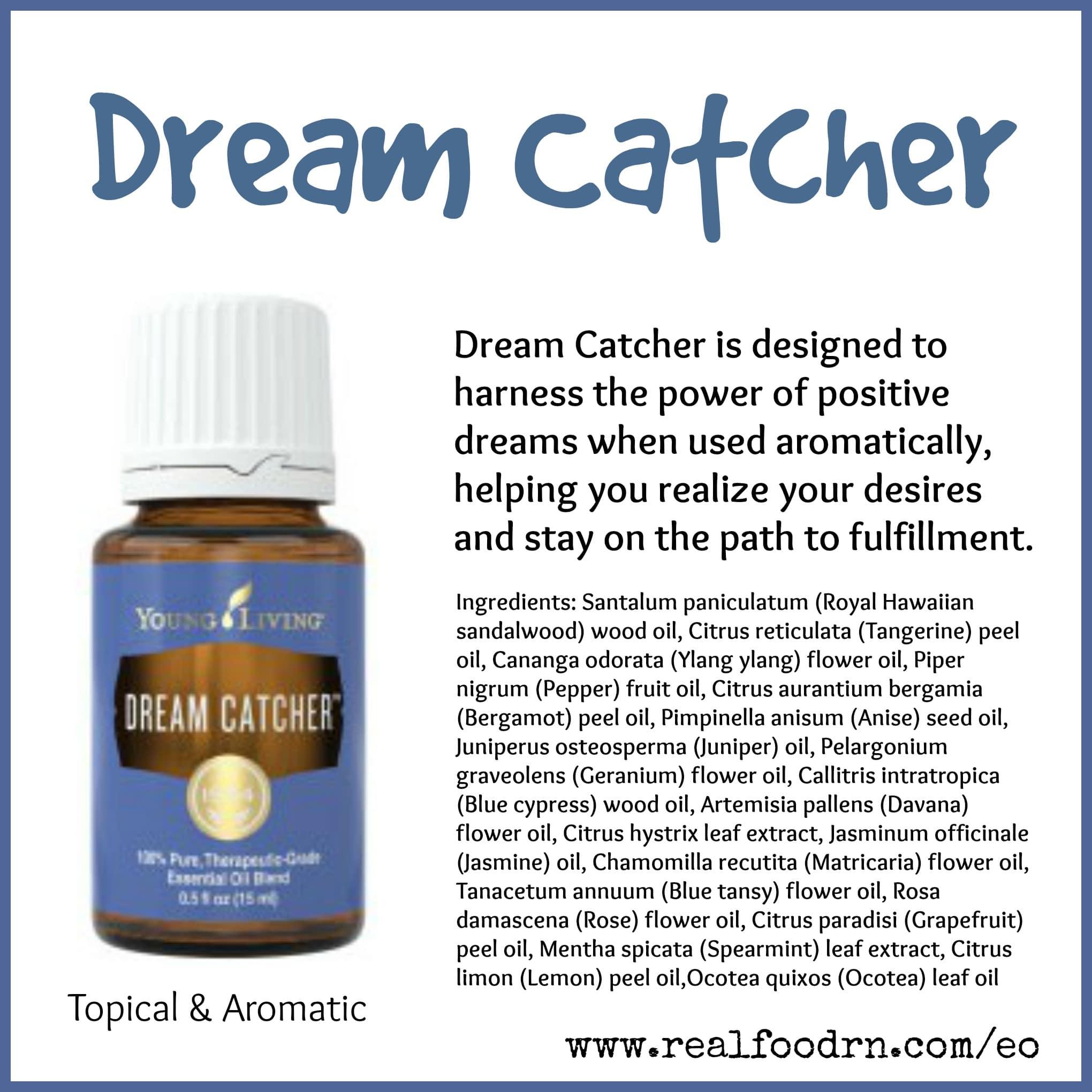 Dream Catcher Essential Oil Pin
