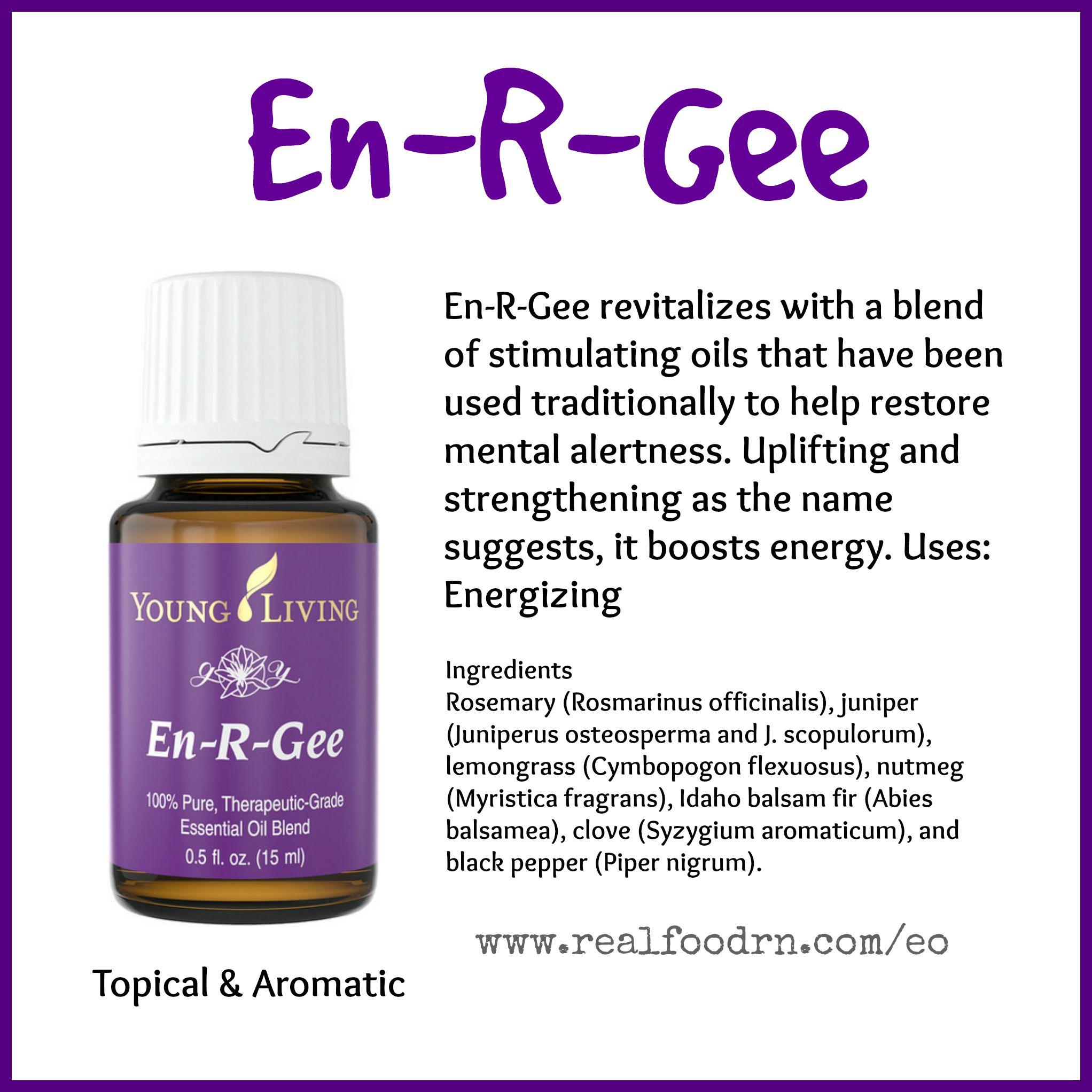 En-R-Gee Essential Oil Pin